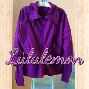 EUC Lululemon Purple Jacket